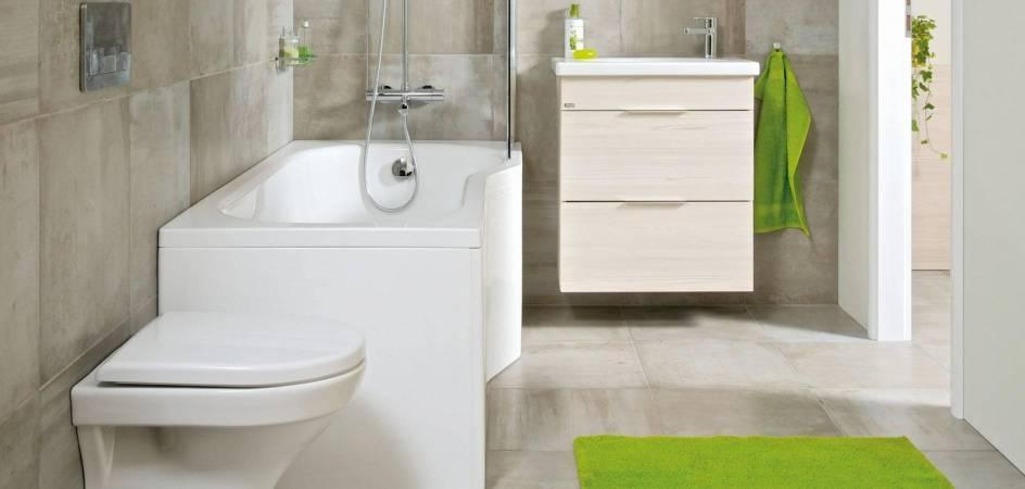 Riešenie pre malé kúpeľne v panelovom dome
