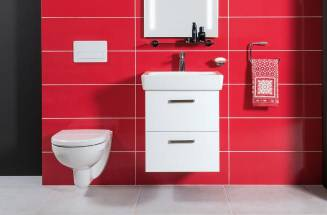 WC s technológiou rimless v sérii Lyra Plus
