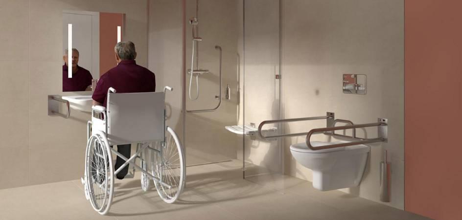Ako na bezbariérovú kúpeľňu